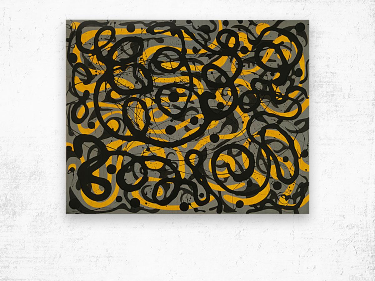 Ecstatic Daylight Wood print