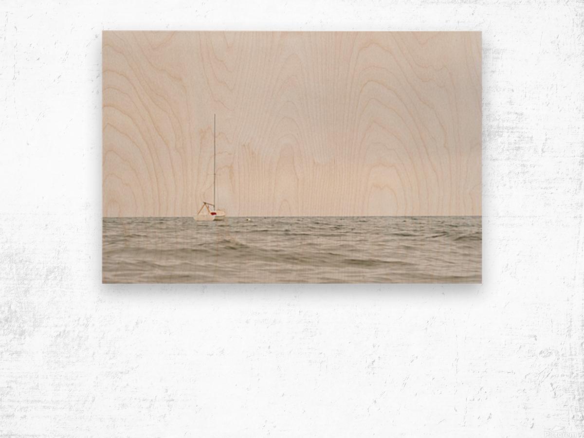 Prendre le large 2 Wood print