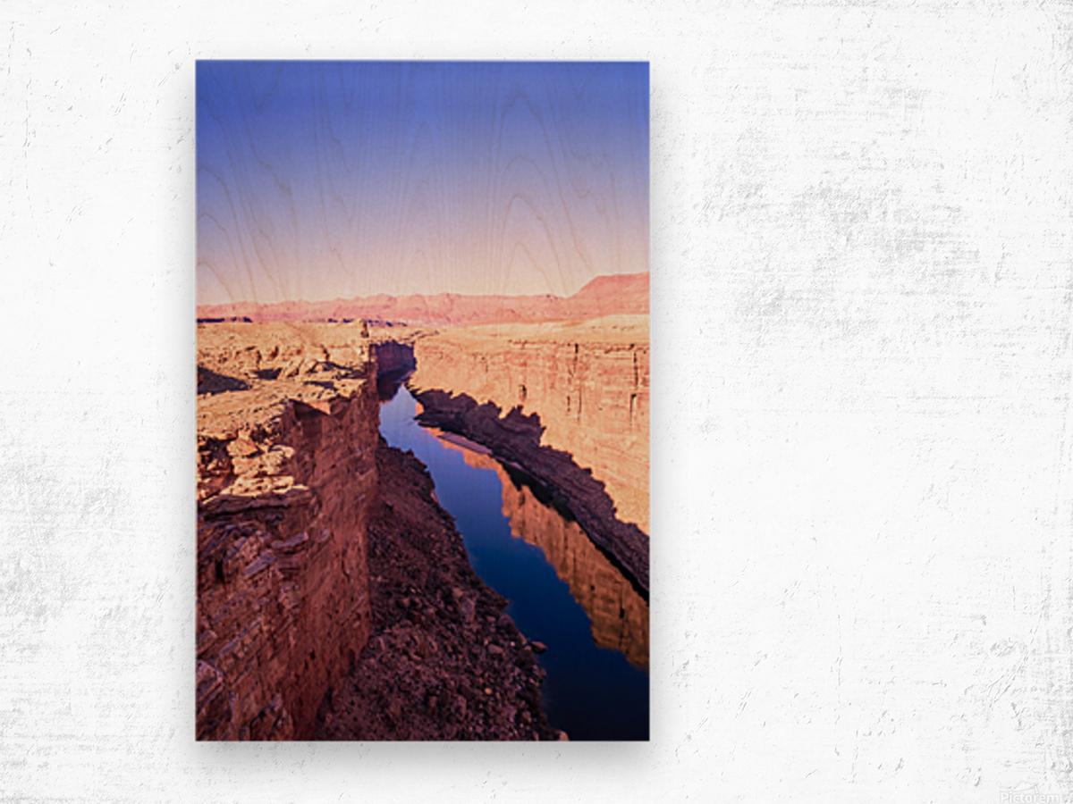 Marble Canyon Wood print