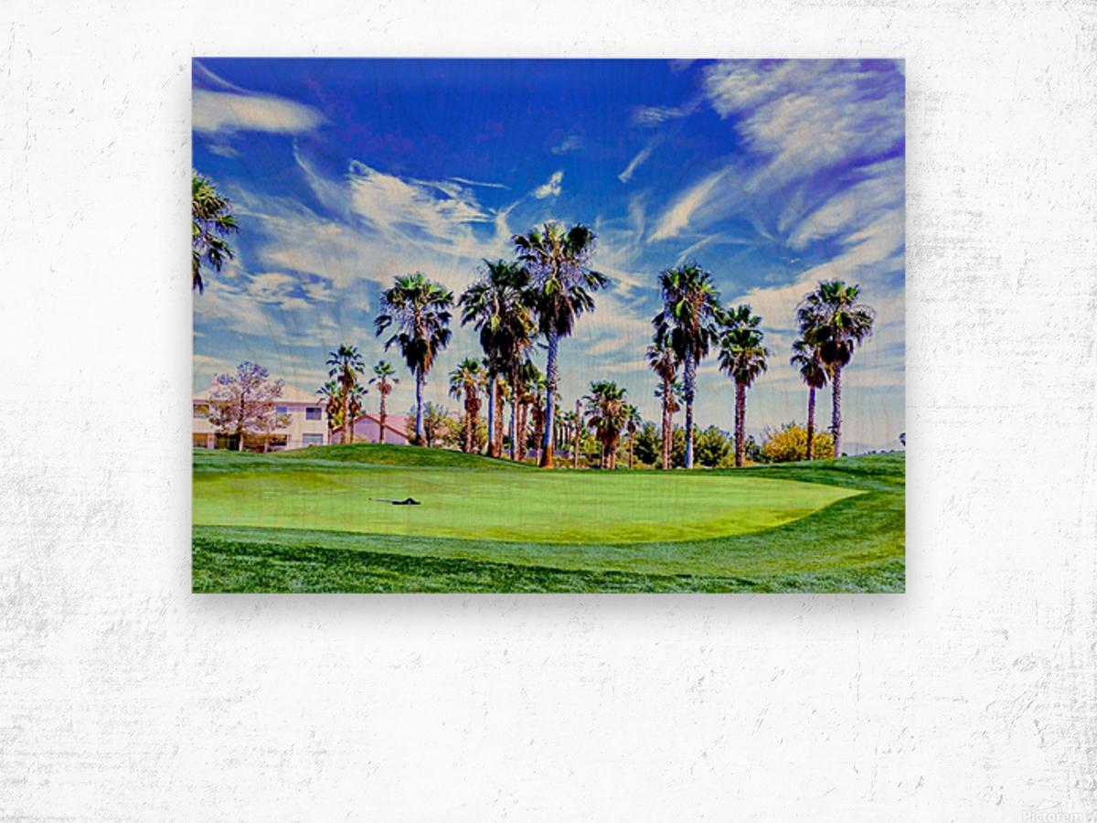 Nevada Sky  Wood print