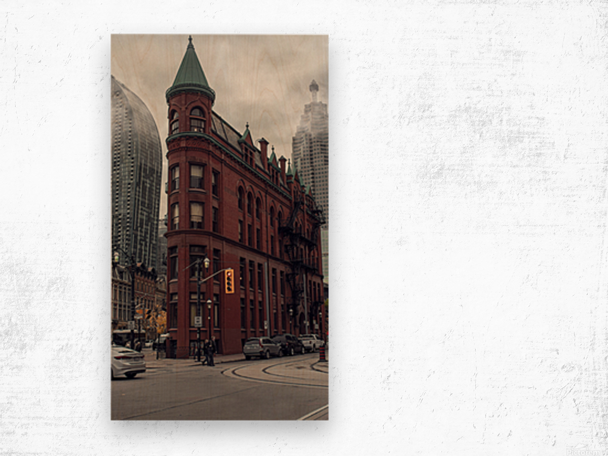 Toronto Gooderham Building Wood print