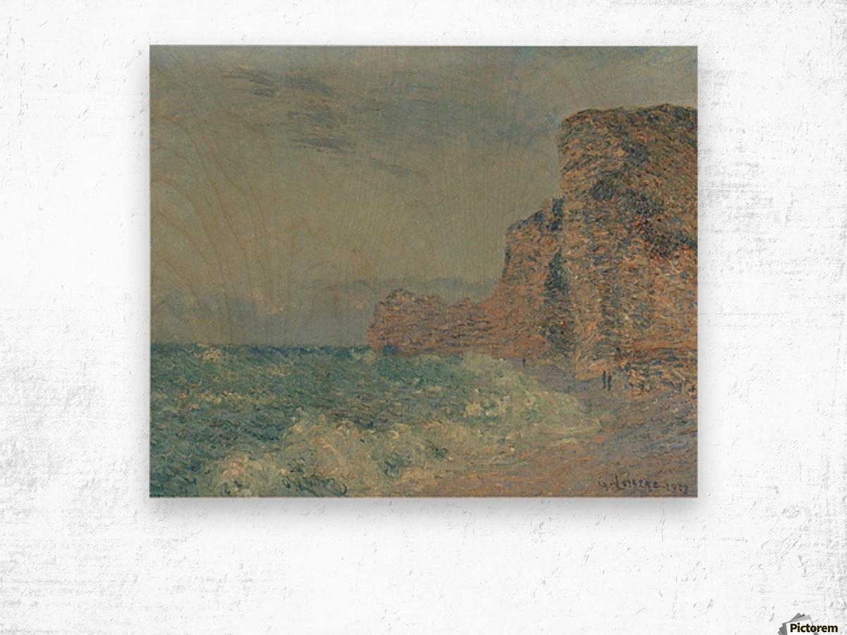 Porte d'Amont, Etretat Wood print