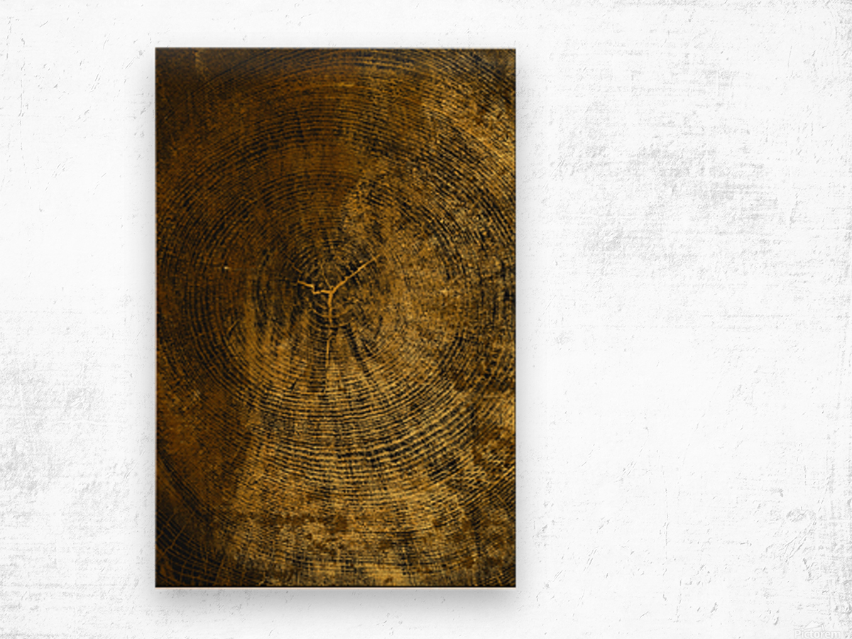 gold texture freekjhkg Wood print