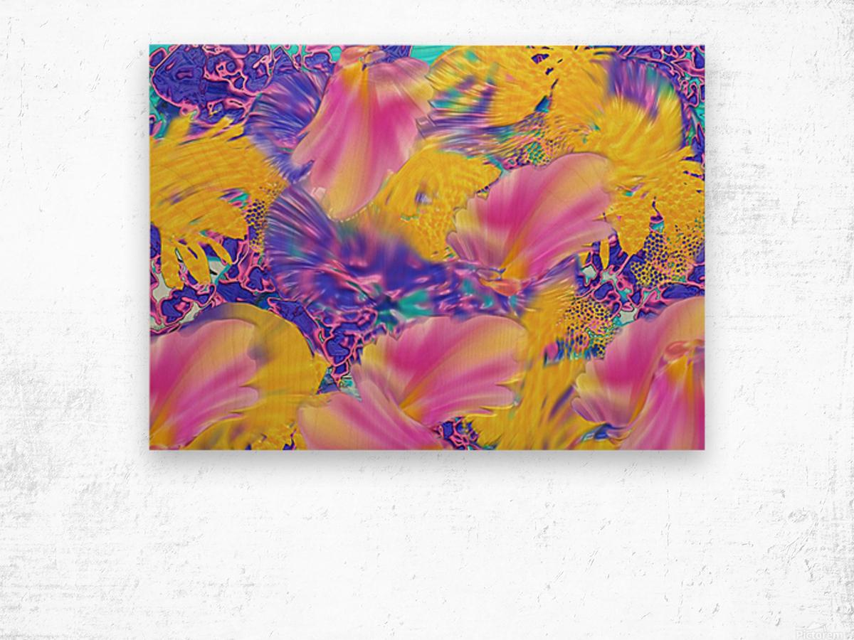 182 Wood print