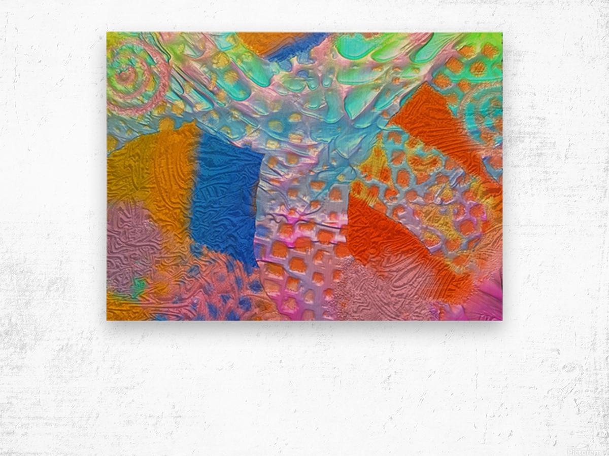 625 Wood print