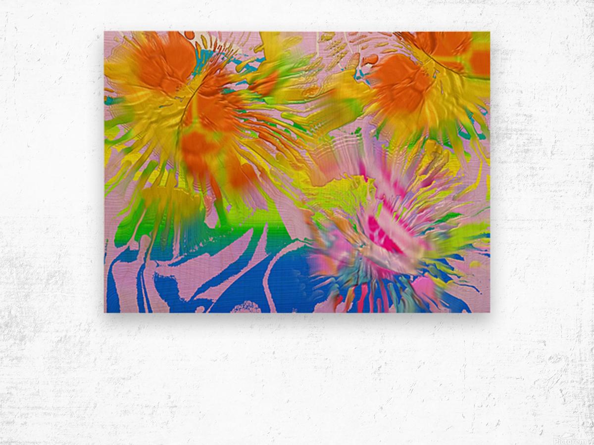 Ref: 875 Wood print