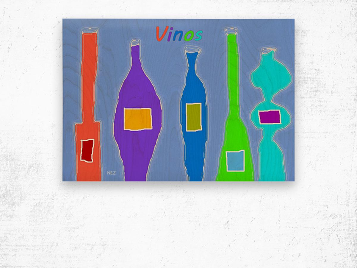 Vinos Wood print