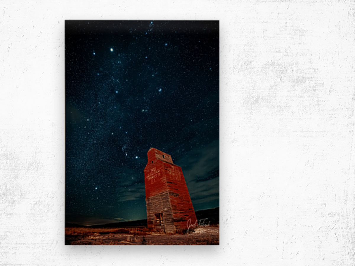 Dorothy Elevator Milky Way Wood print