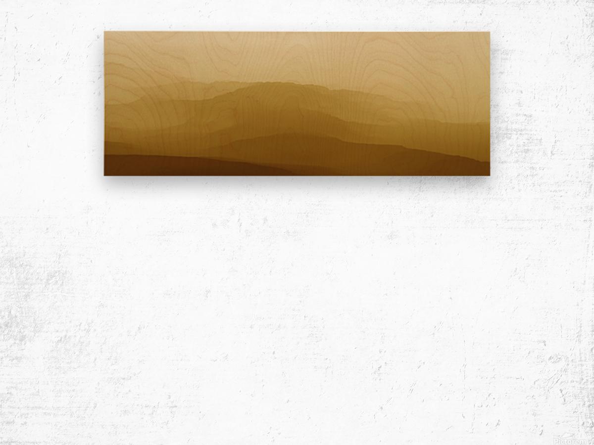 Mountainous Landscape 6 Wood print