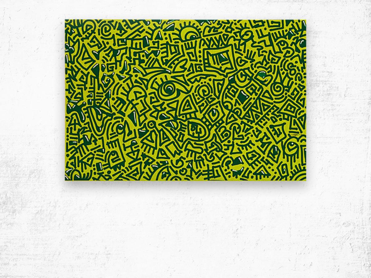 PARABLES xv Wood print