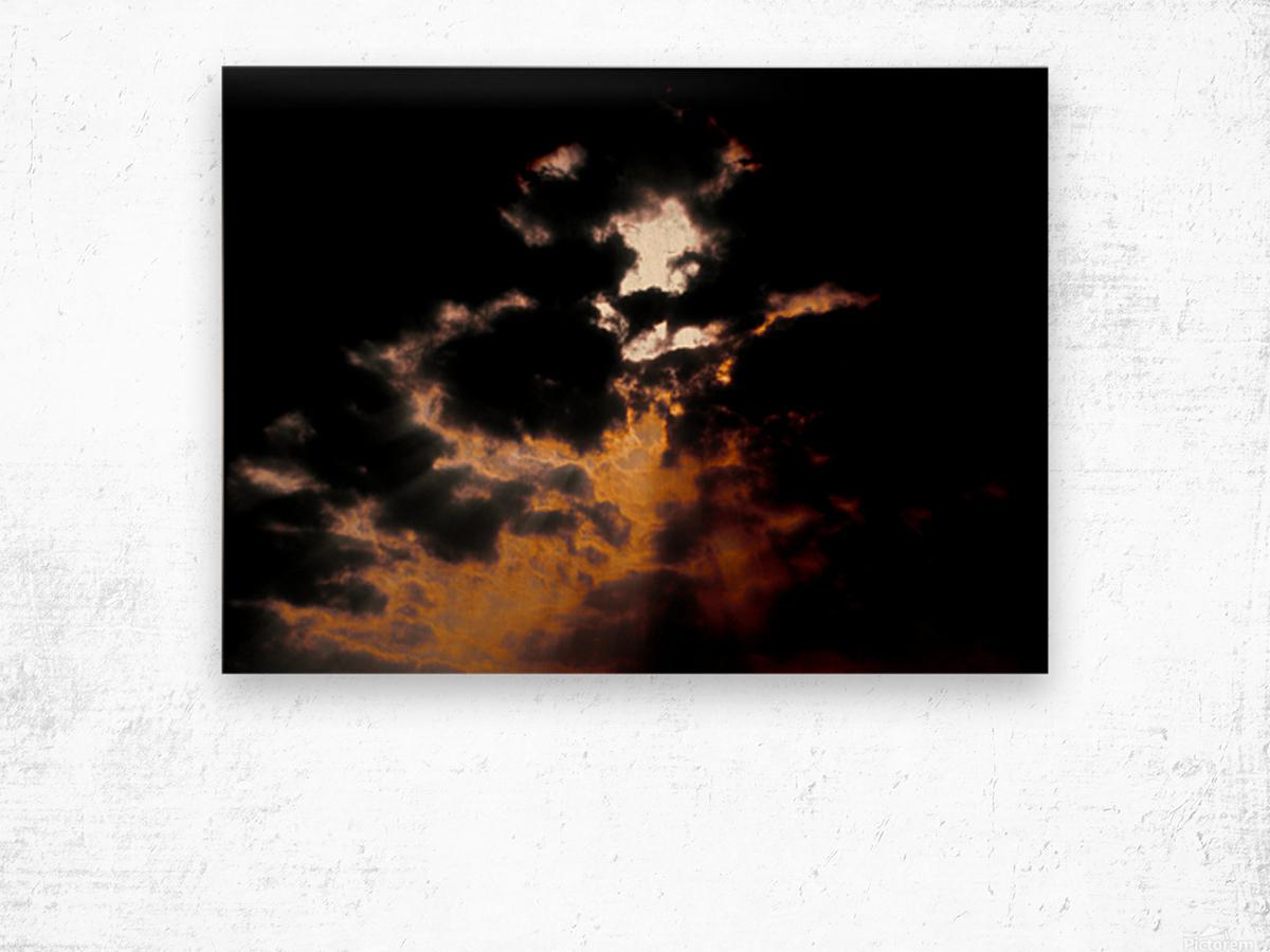 Sky Talk Wood print