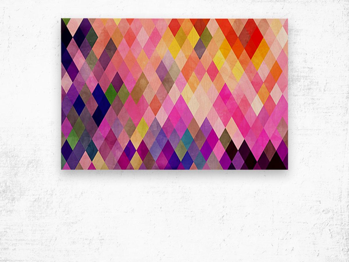 Geometry of Life Wood print