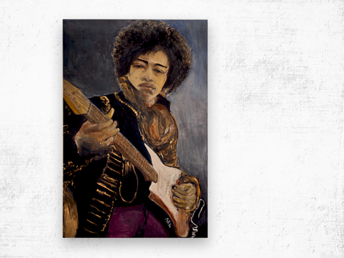 Jimi_High_Res Wood print