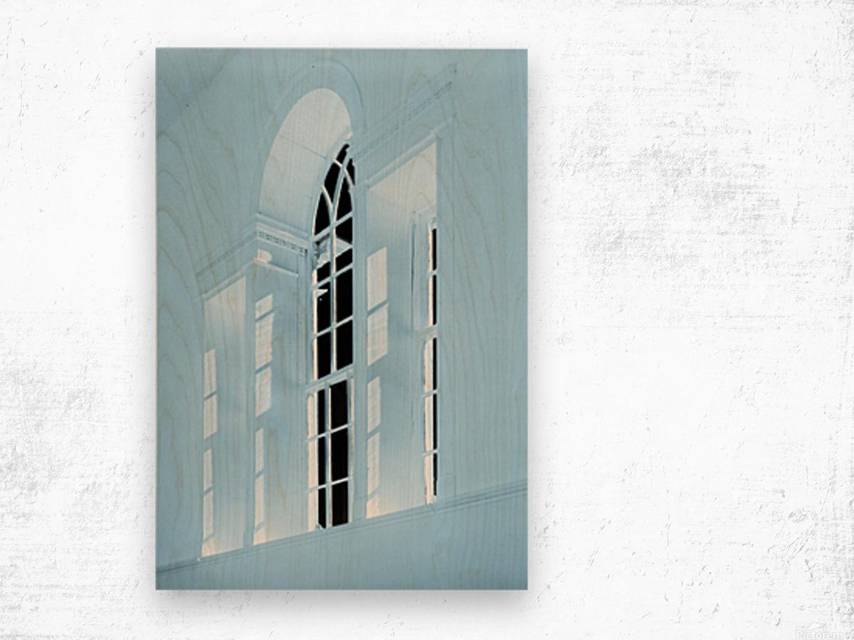 Acworth Church 2 Wood print