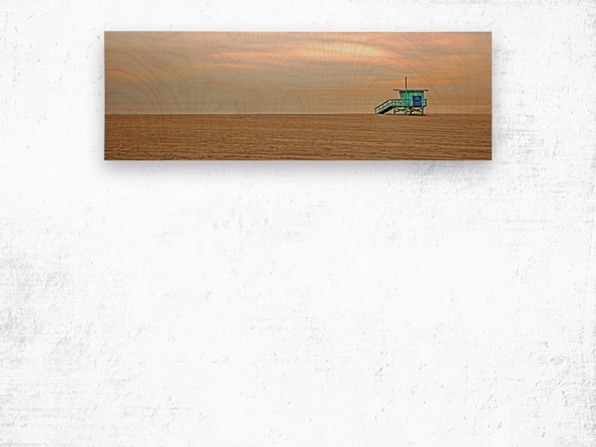 Beachbum blues Wood print