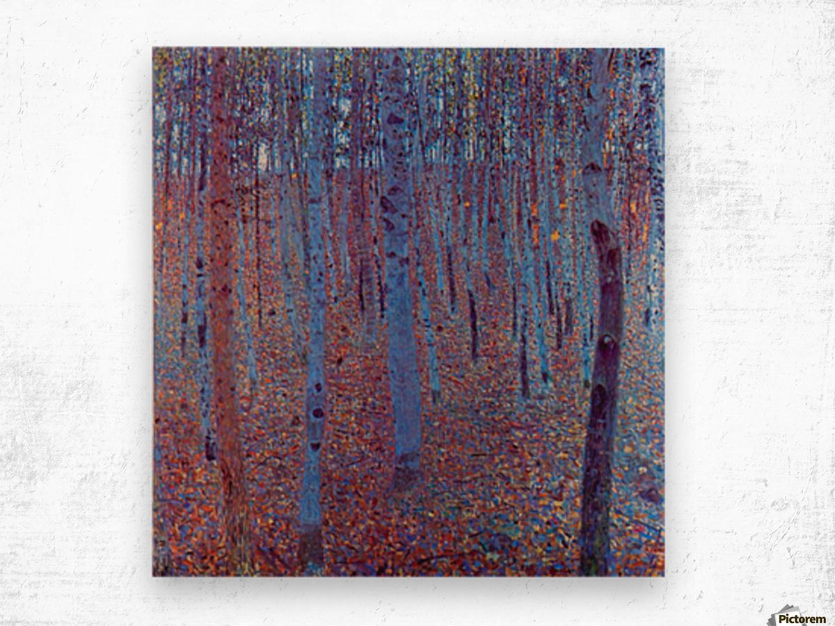 Beech Forest by Klimt Wood print