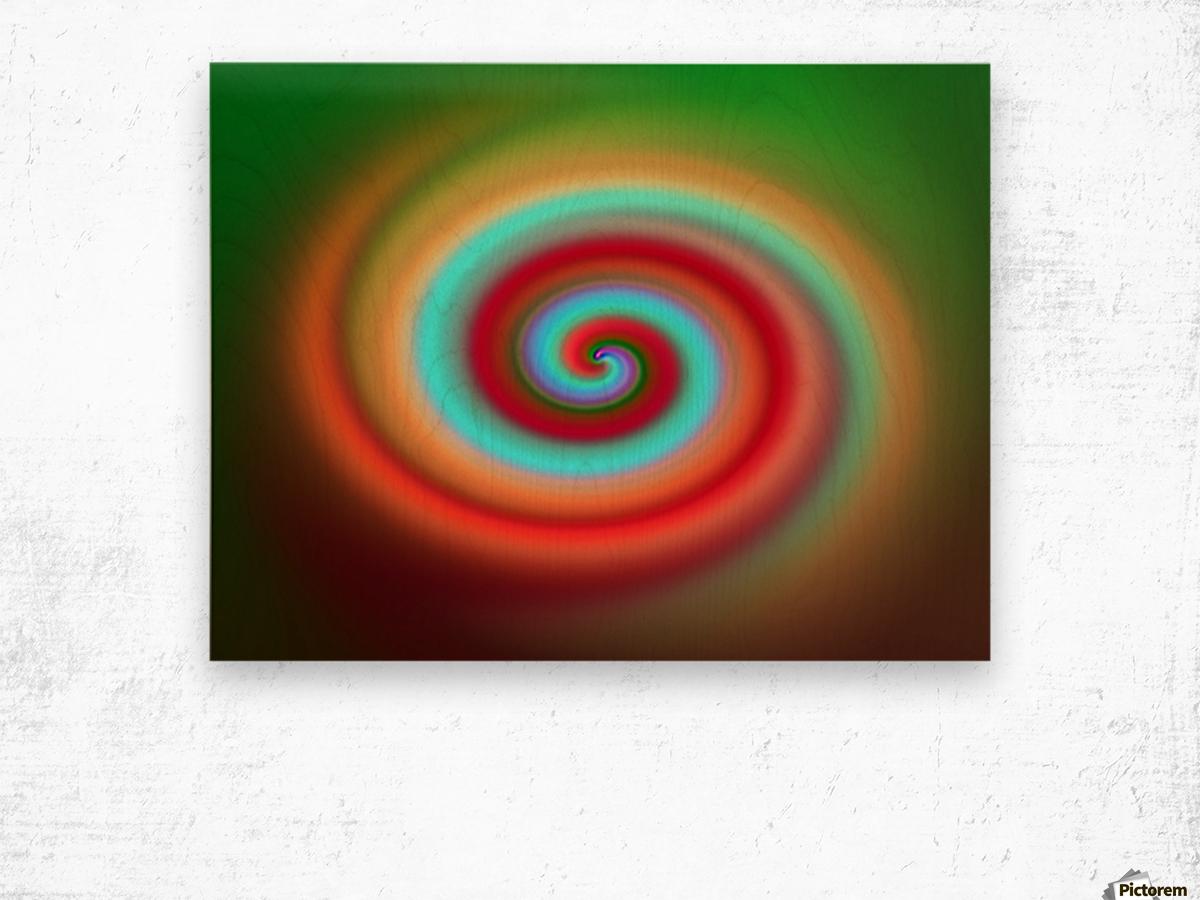 Swirl Wood print