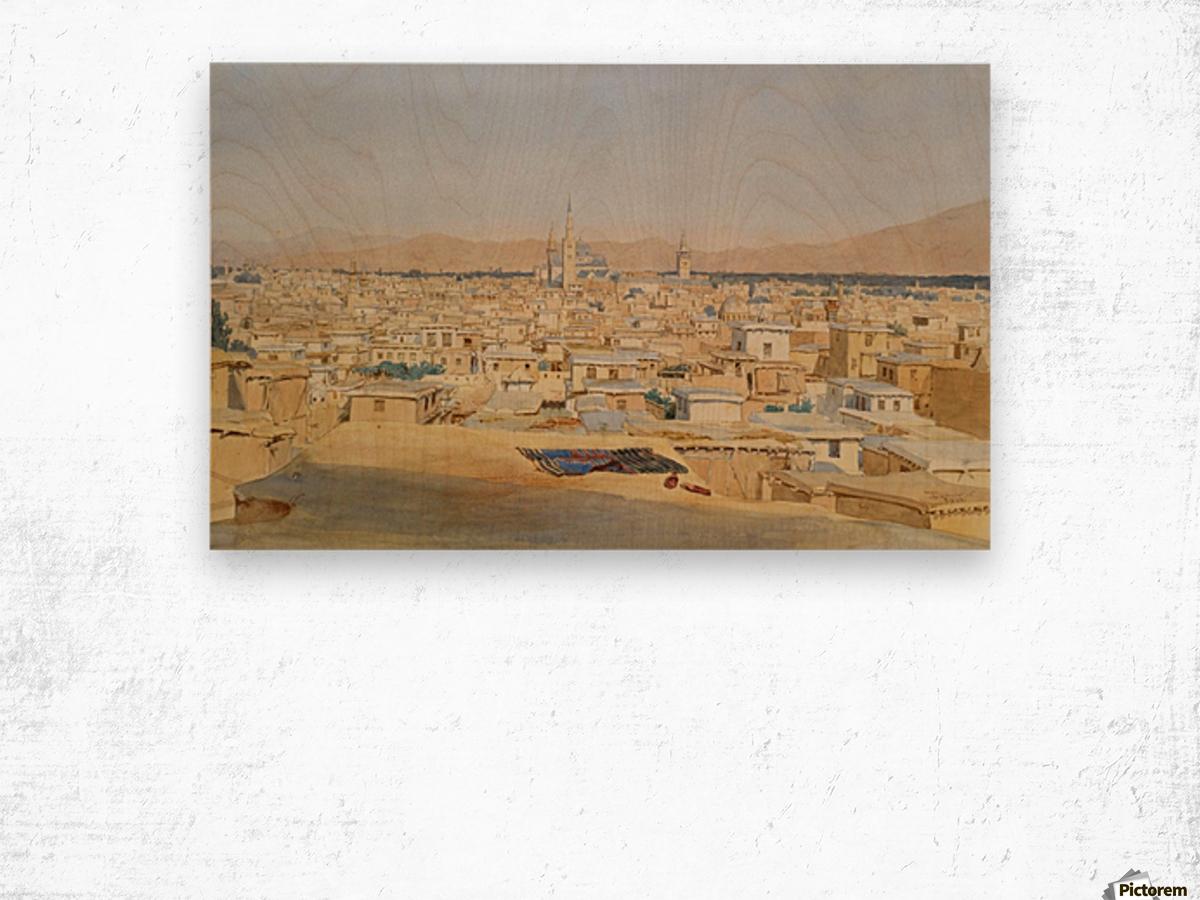 Damascus Wood print