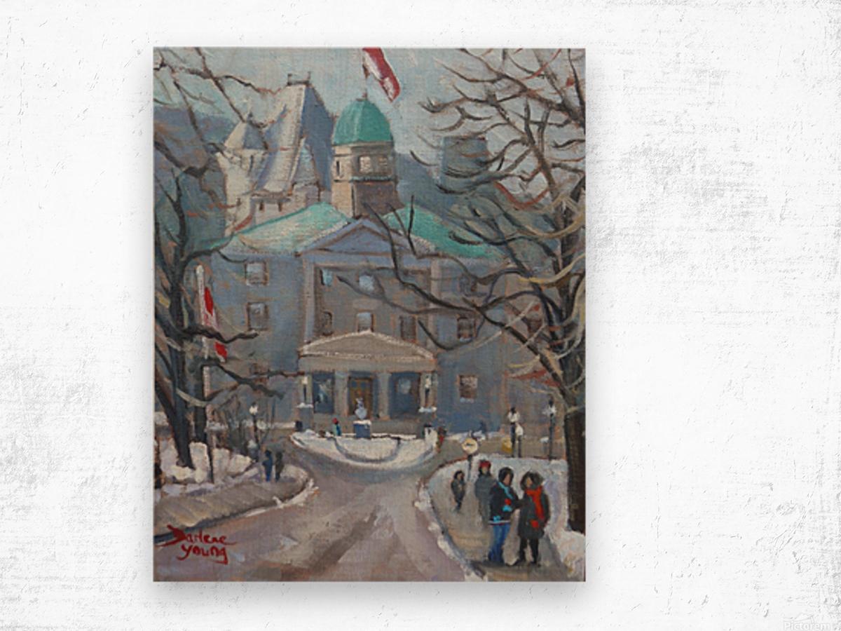 McGill Wood print