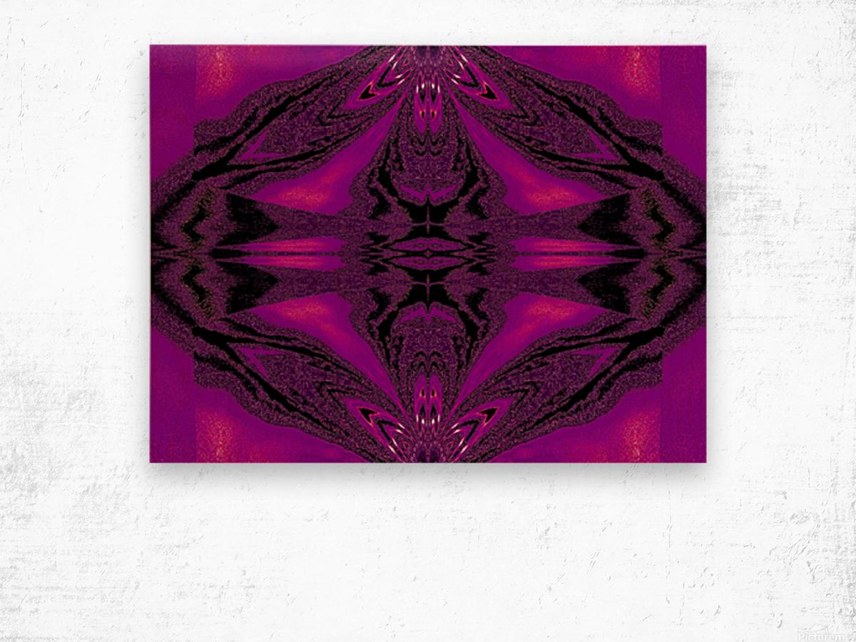 Purple Desert Song 7 Wood print