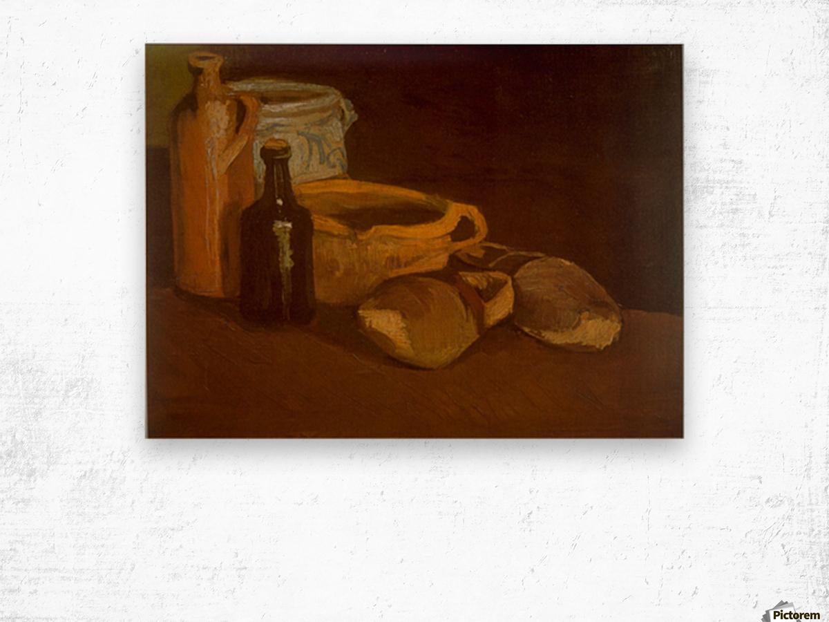 Cogs by Van Gogh Wood print