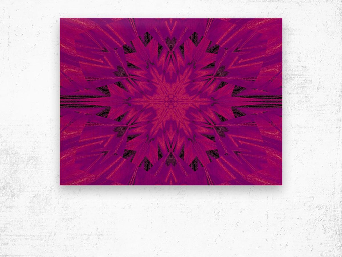 Purple Desert Song 45 Wood print