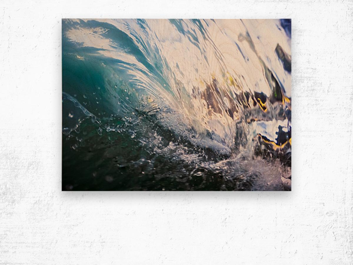 Crash Wood print
