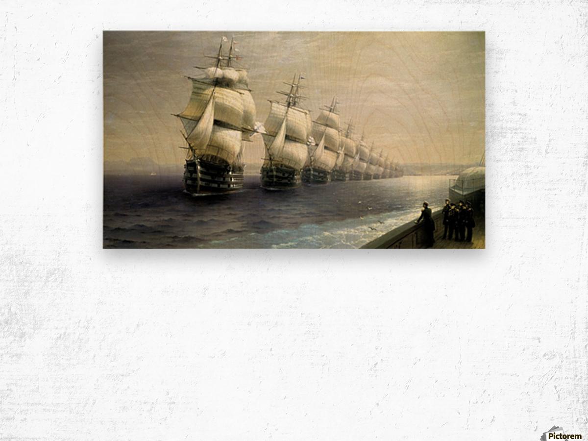 Black Sea fleet Wood print