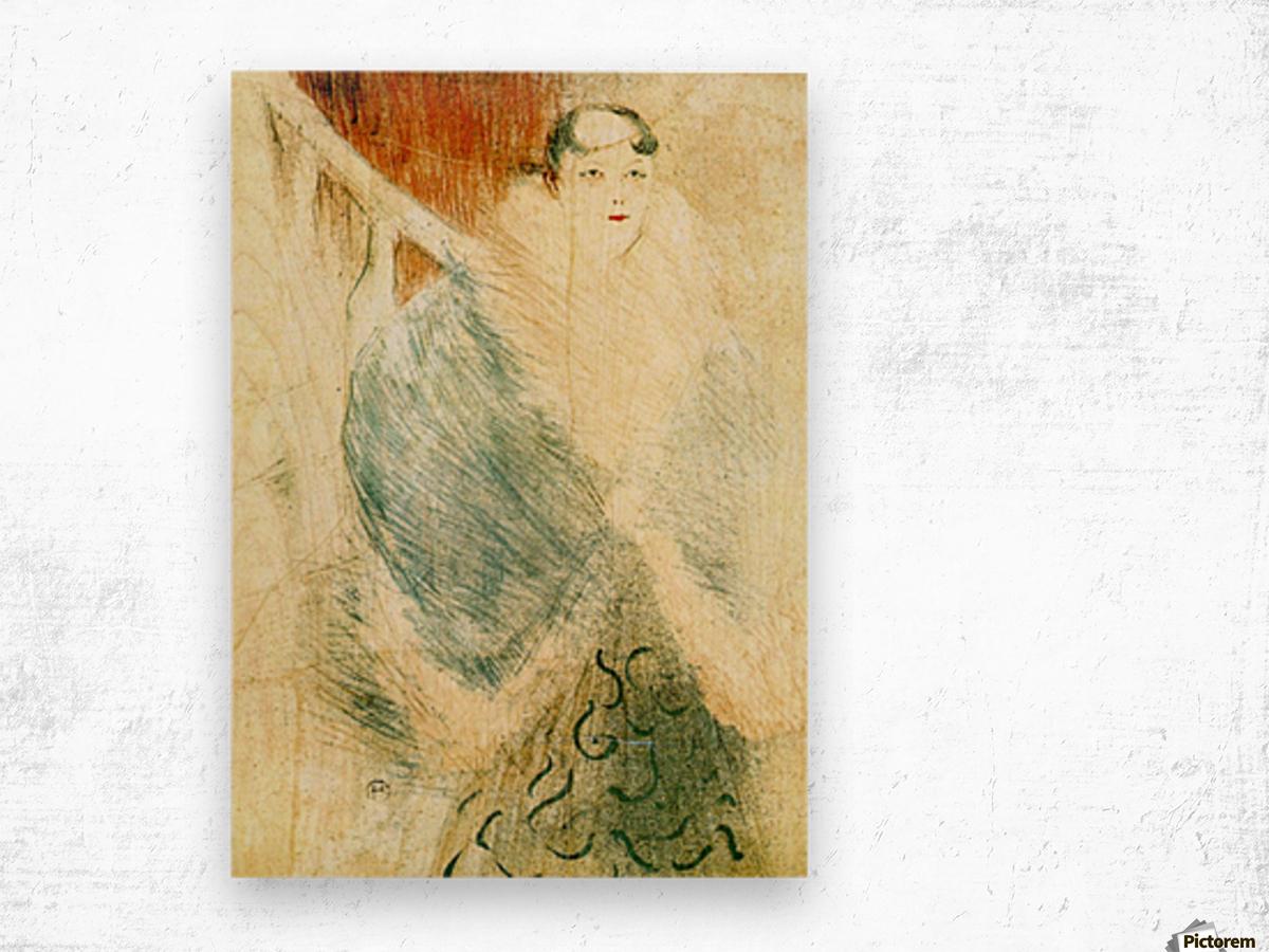 Elsa dite la Liennoise by Toulouse-Lautrec Wood print