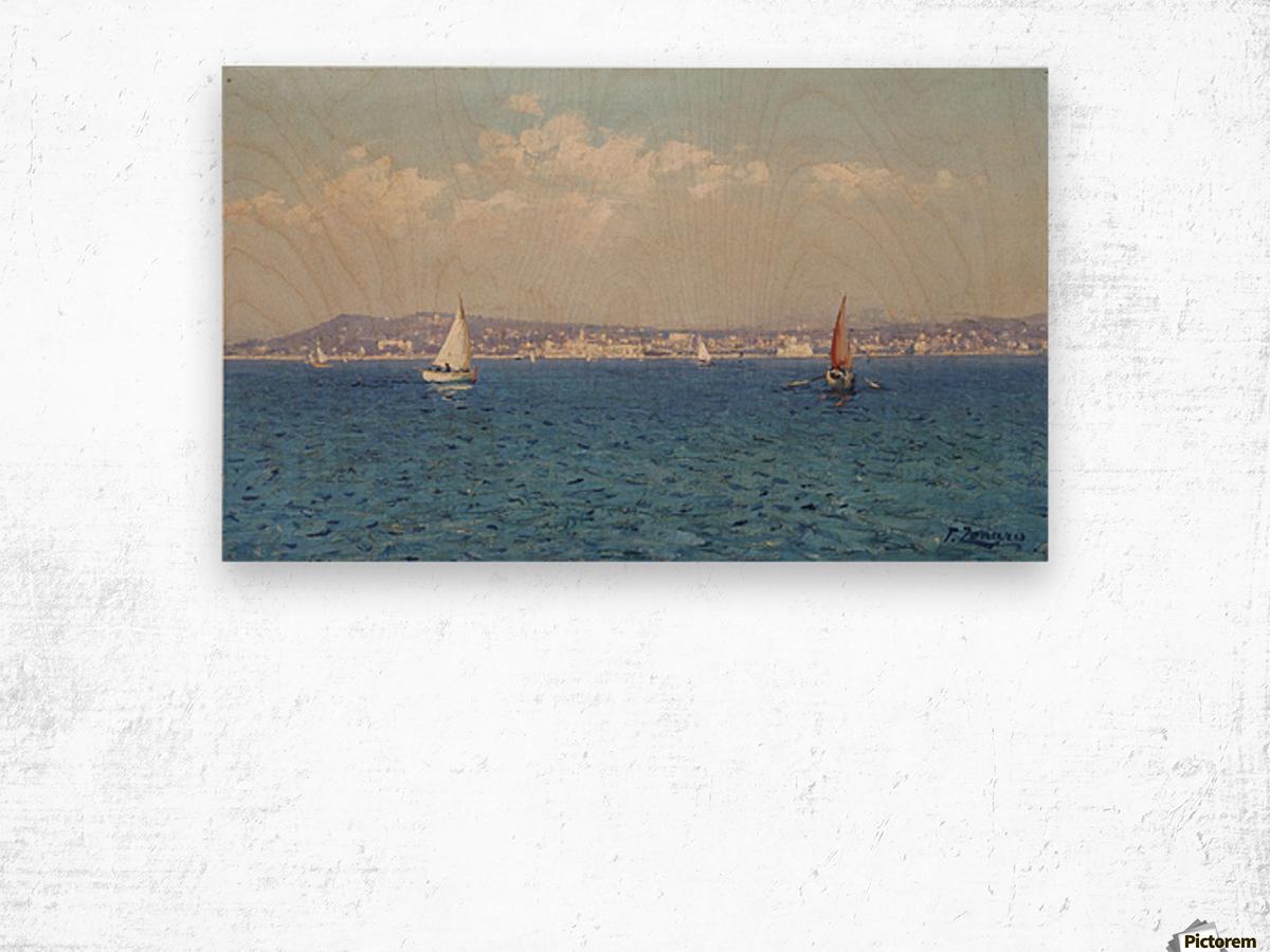 Franzasische Riviera Wood print