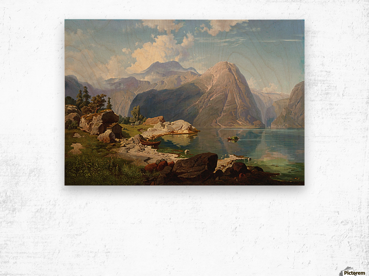 Hardanger Fjord Wood print