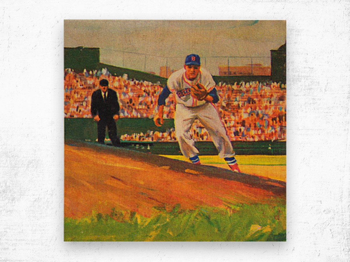 Fenway Park Boston Red Sox Art_Red Sox Posters Wood print