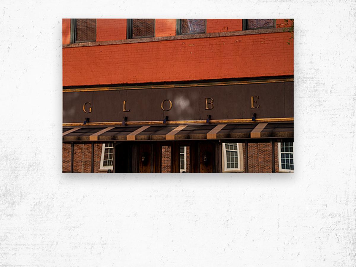 The Globe   Downtown Athens GA 07269 Wood print