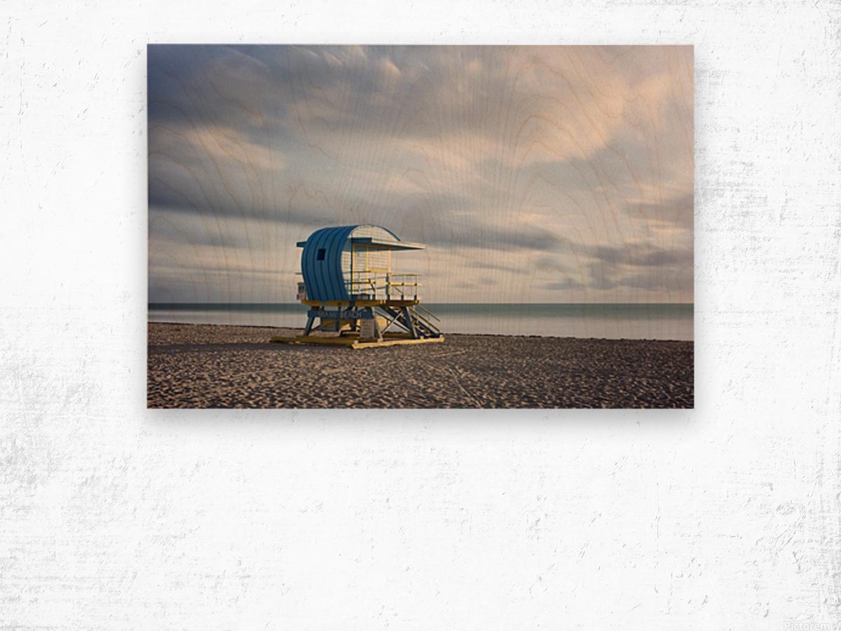 Miami Beach 042 Wood print
