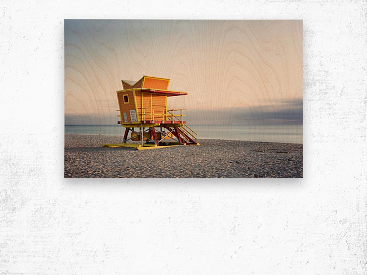 Miami Beach 0280 Wood print