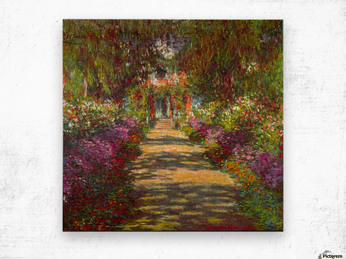 Giverny by Monet Wood print
