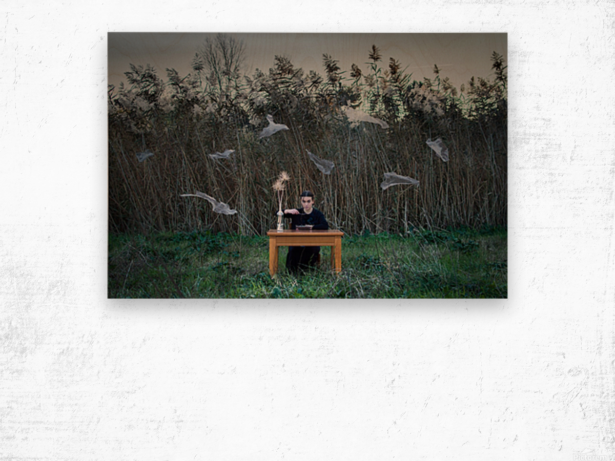 Deperson Wood print