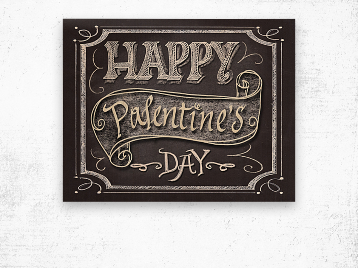 Happy Pantone Day Wood print