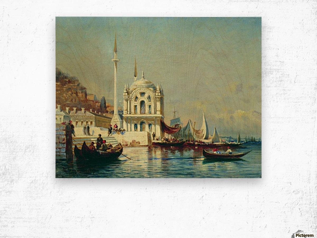 Constantinople - 1860 Wood print