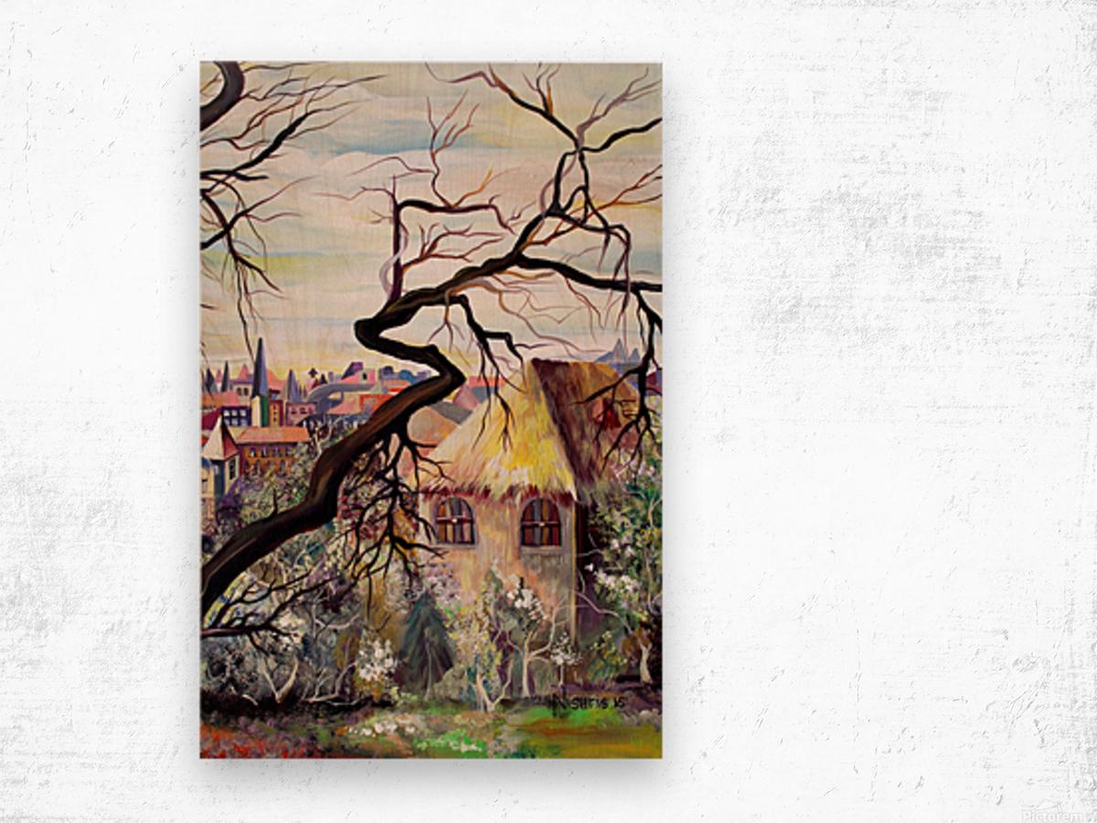 French Provenance Bohemian View Wood print