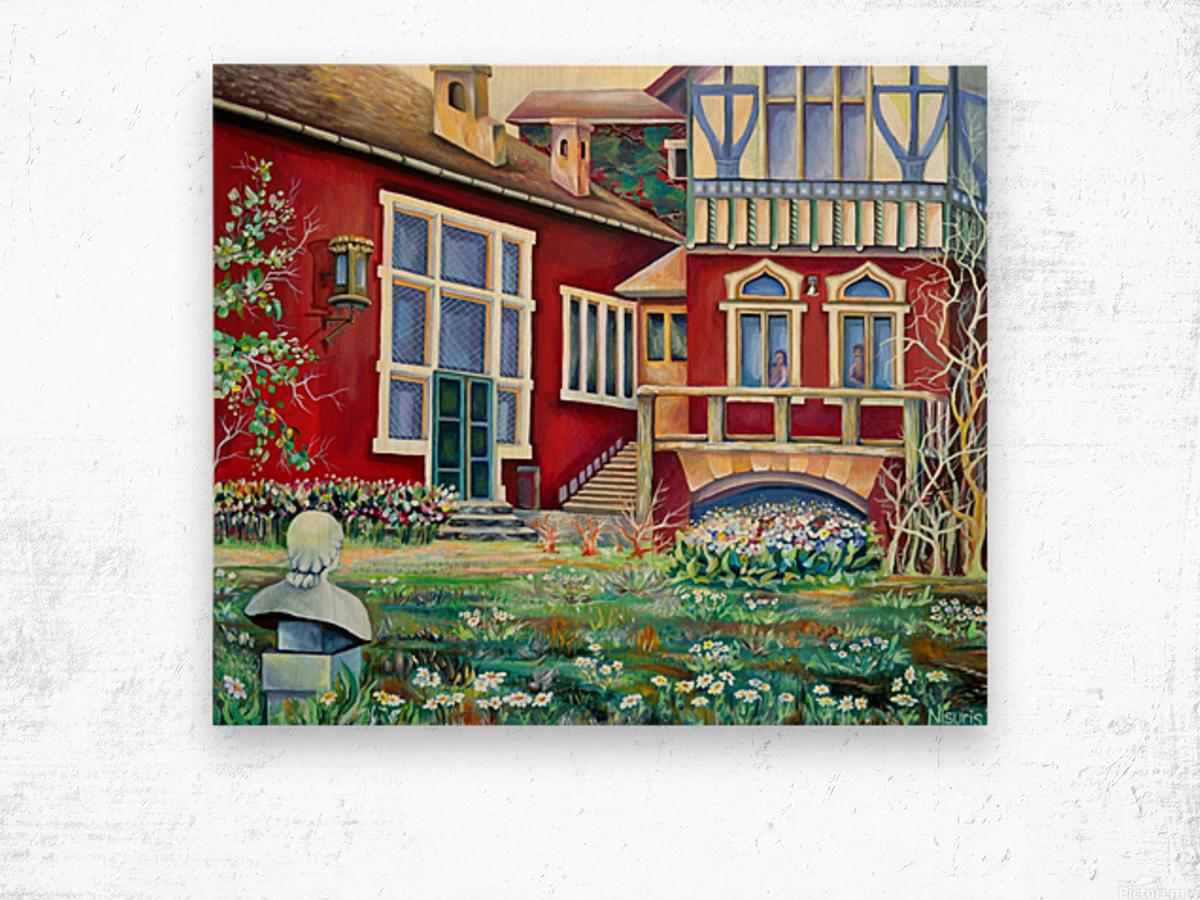 Scandinavia Sweden  Wood print