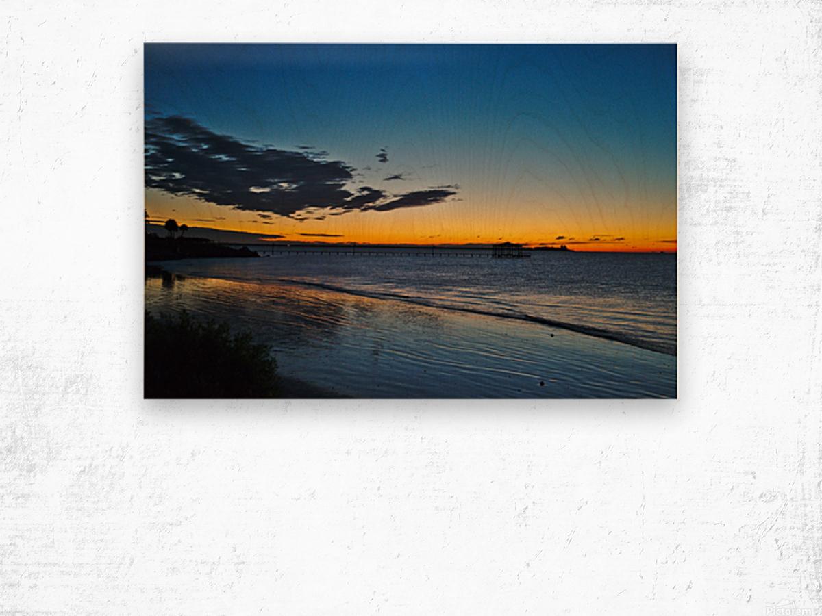 Sunrise Full Frame Wood print