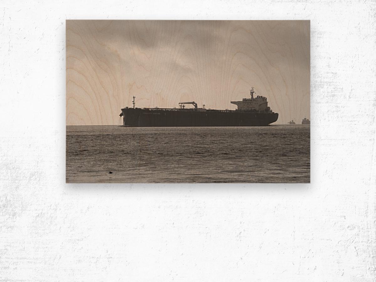 Tanker Wood print