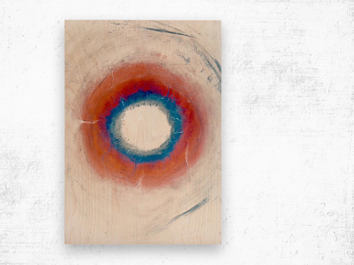 Glimpse of Black Hole No.4 Wood print