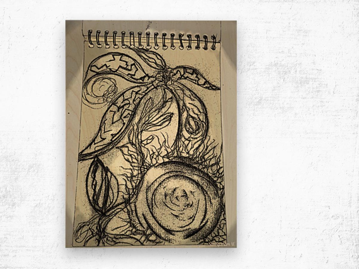 Fruits of Phoenicia  Wood print