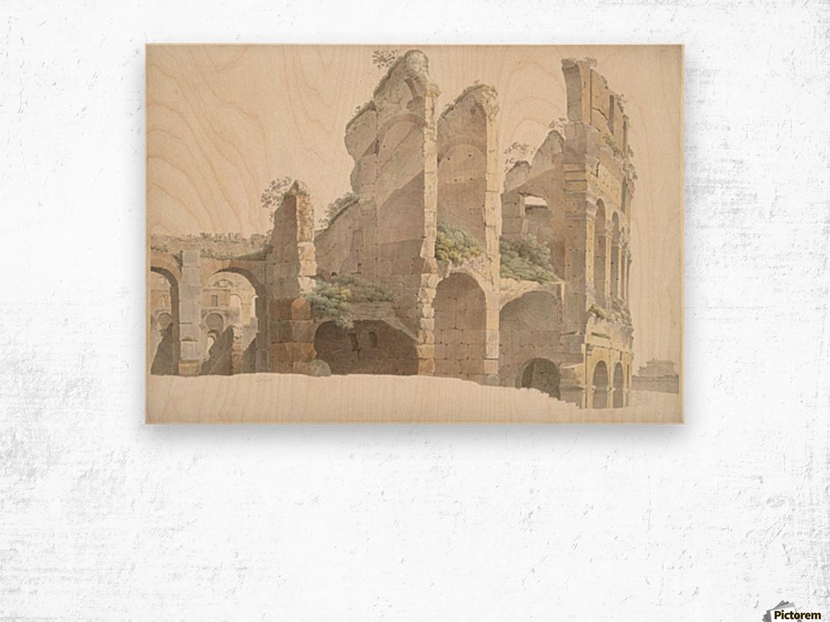 Het Colosseum te Rome Wood print