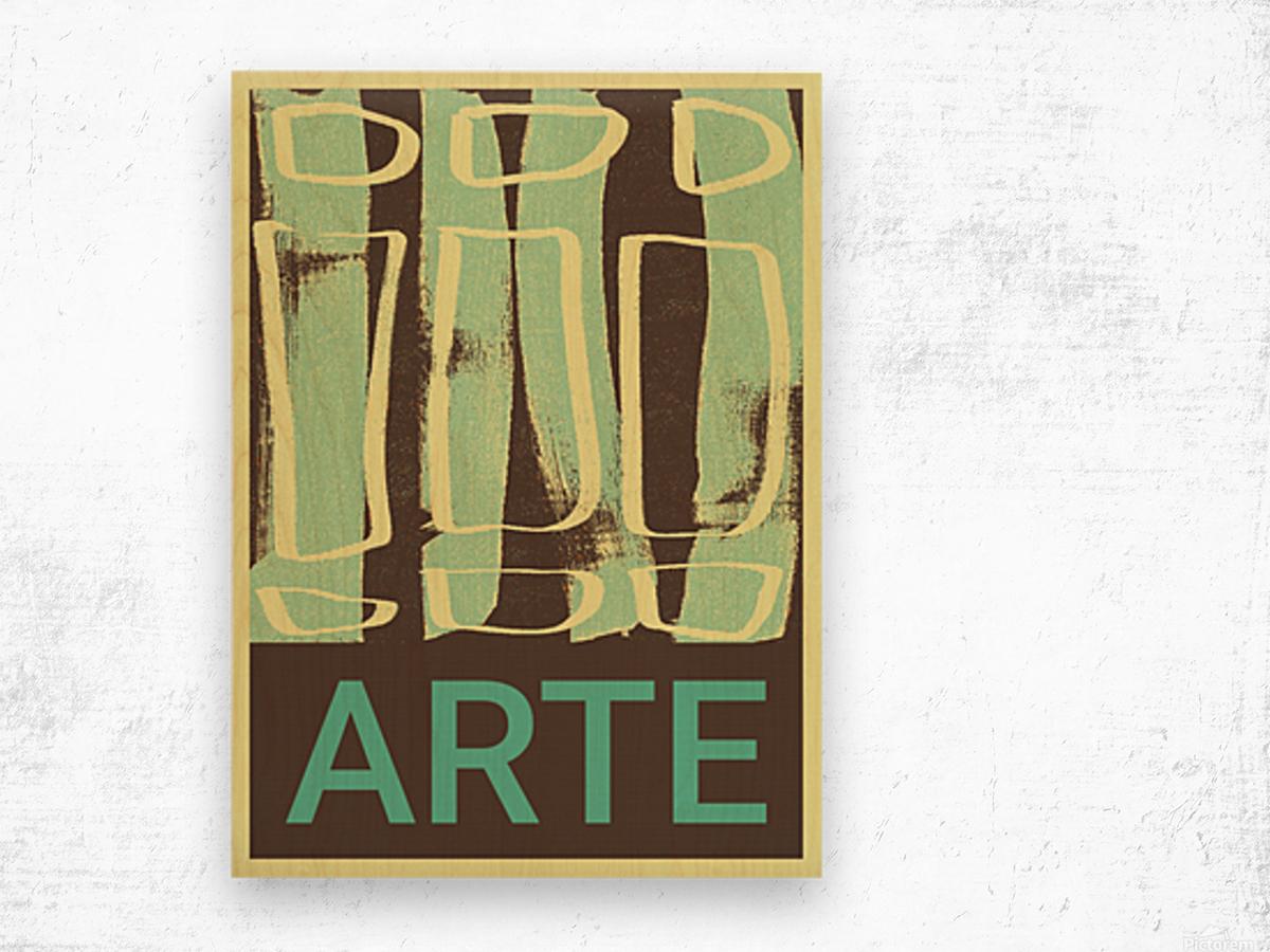 ARTE -13  Wood print