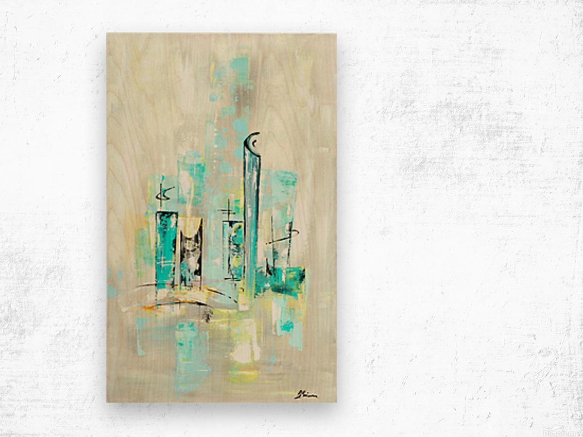 Uptown XII Wood print
