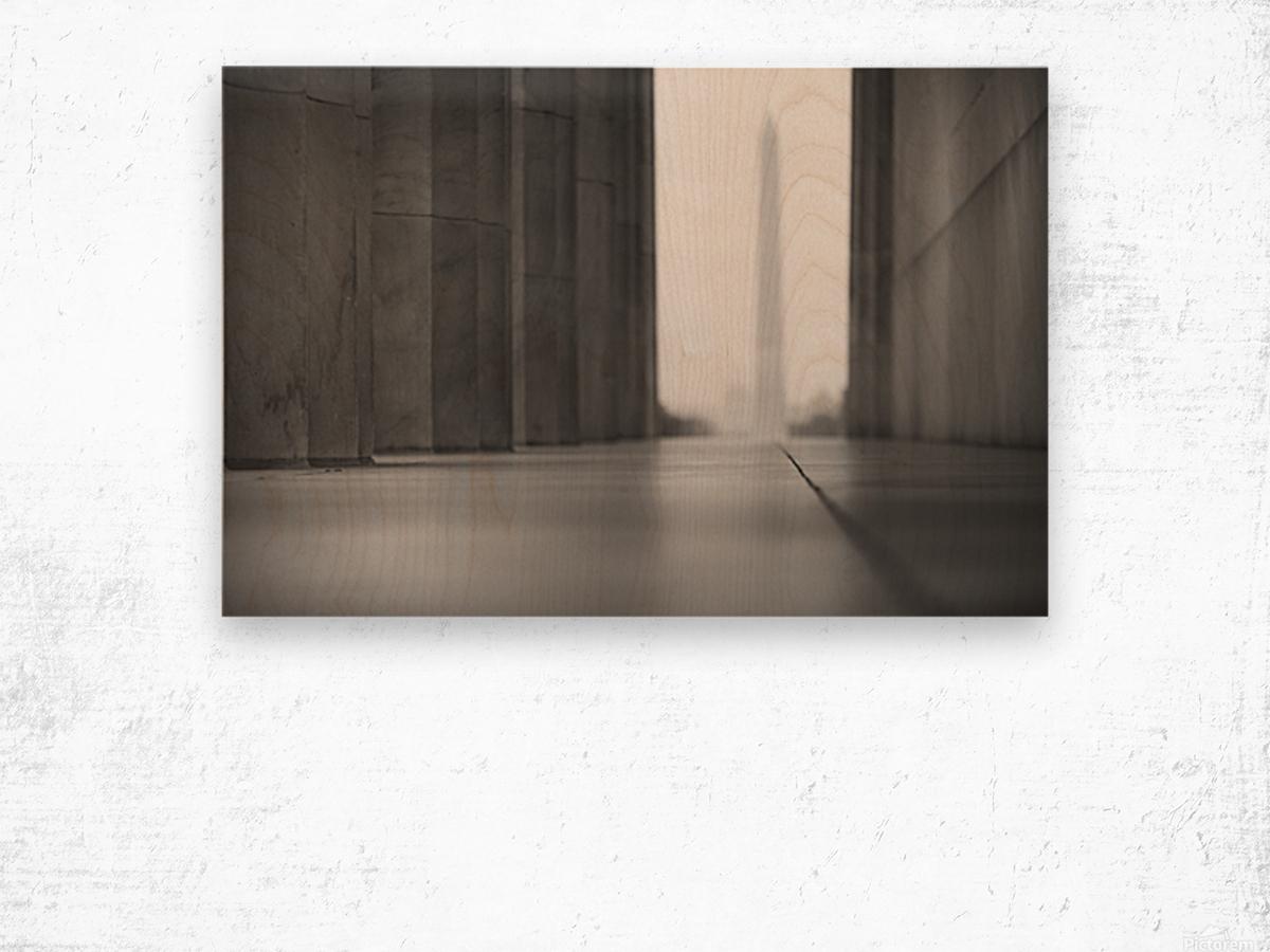 Ghost Memorials Wood print