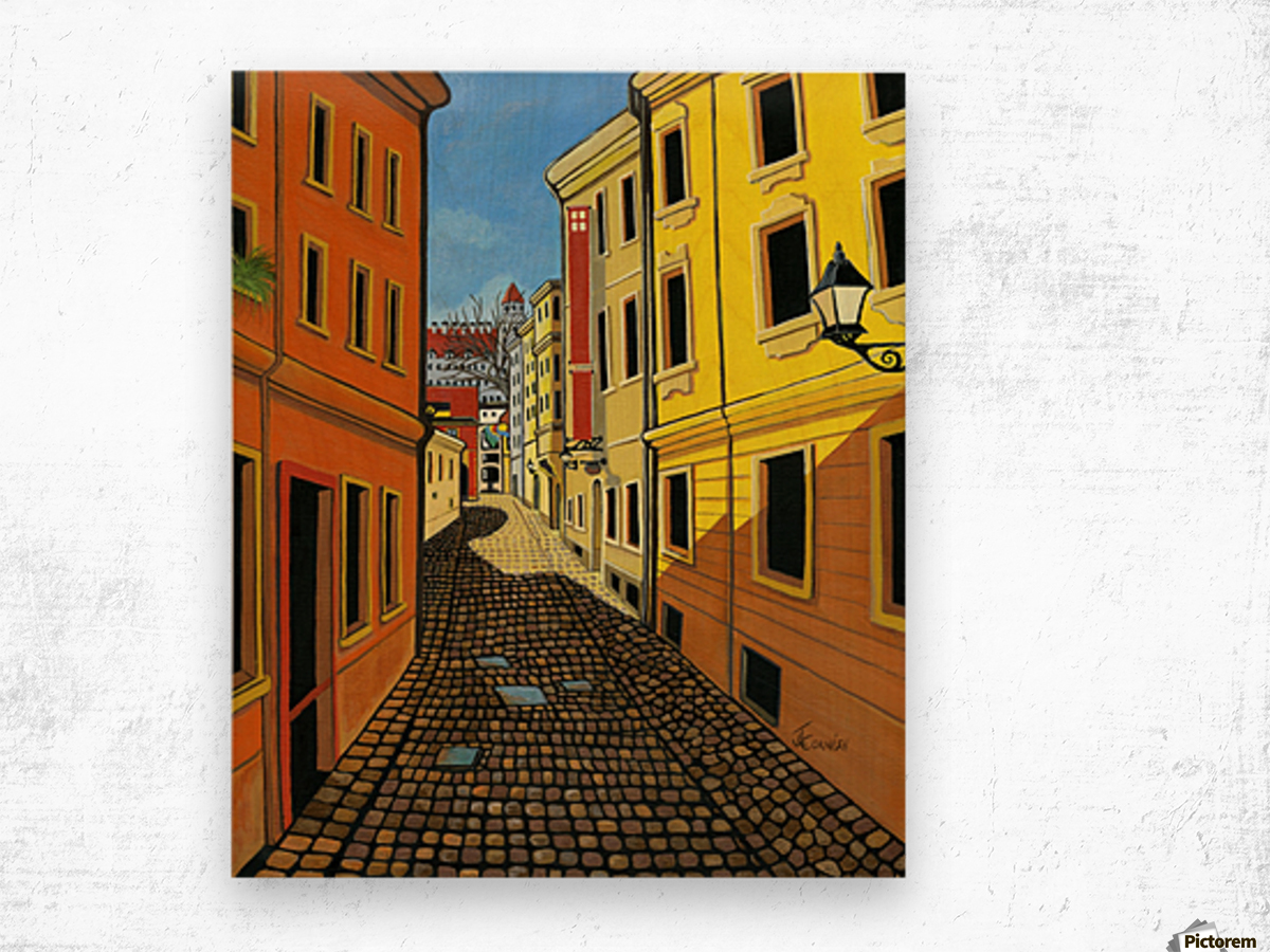 Colours of Europe Wood print